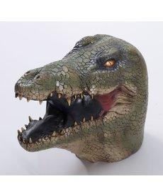 DLX. Latex Animal Mask - Alligator