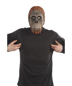Dlx. Latex Animal Mask - Orangutan