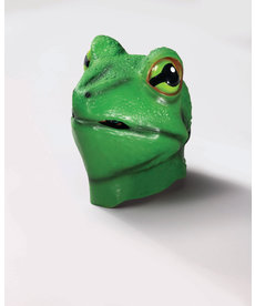 Deluxe Latex Animal Mask - Frog