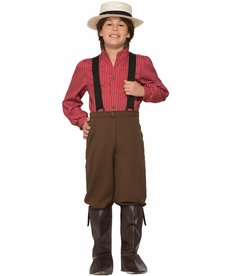Kids' Pioneer Boy Costume