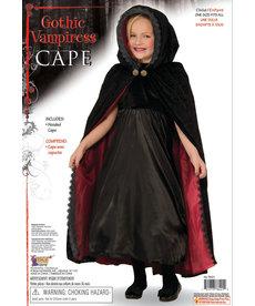 Gothic Vampire Cape - O/S