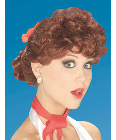 Women's 50's Auburn Housewife Wig