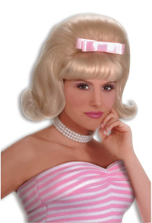 Adult Blonde 50's Bouffant Wig