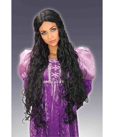 Adult Black Guinevere Wig