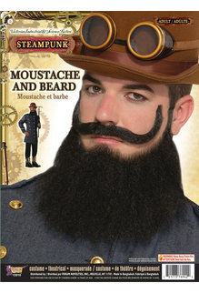 Beard & Mustache General Jax: Black