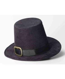 Super Deluxe Black Pilgrim Hat