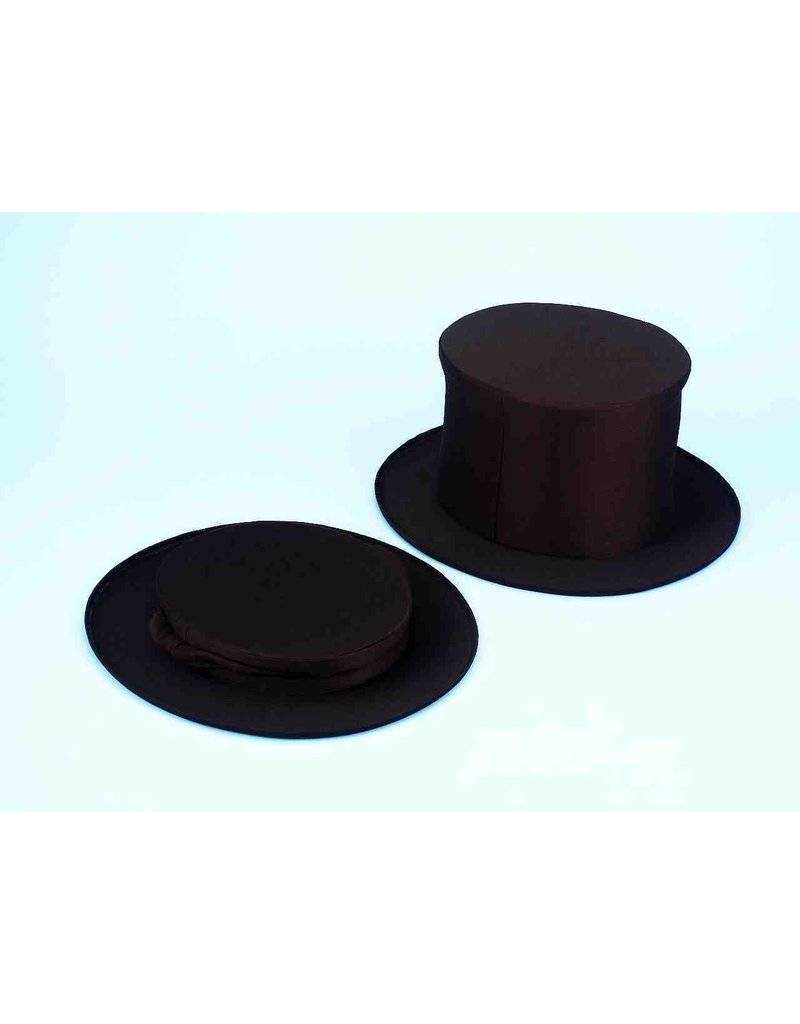 Collapsible Top Hat - Black