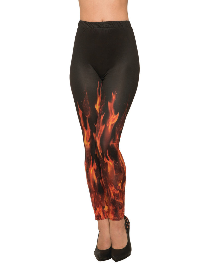 Devil Fire Leggings - O/S