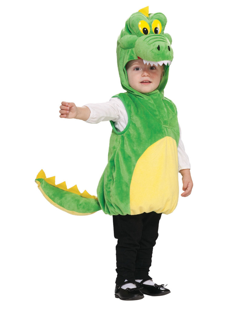 Toddler's Cuddlee Crocodile Costume
