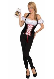 Adult Beer Garden Girl Corset Top