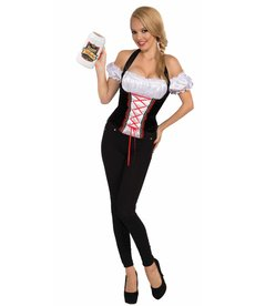 Adult Beer Garden Girl Corset Top