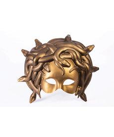Masquerade Gold Mask: Medusa