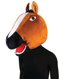 Plush Animal Mascot Head: Horse