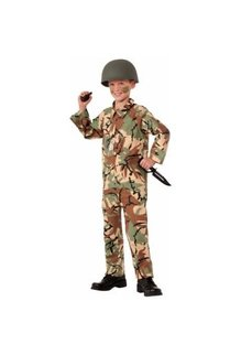 Army Jumpsuit Costume