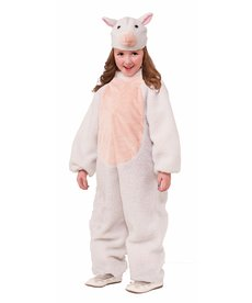Girl's Plush Sheep Costume
