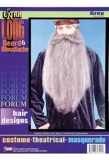 "18"" Extra Long Beard/Mustache"
