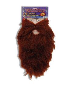 Full Beard and Moustache