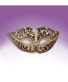 Venetian Mask: Leopard Print
