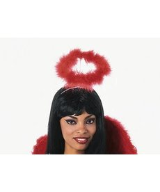 Rubies Costumes Marabou Halo - Red