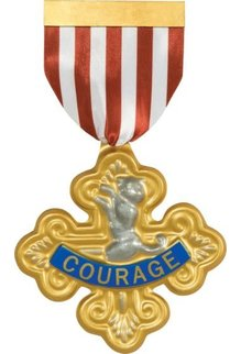 Rubies Costumes Cowardly Lion Badge of Courage