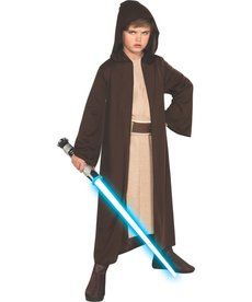 Rubies Costumes Kids Hooded Jedi Robe Costume For Boys