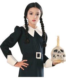 Rubies Costumes Kids Wednesday Addams Wig