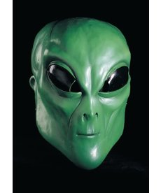 Rubies Costumes Green Alien Latex Mask