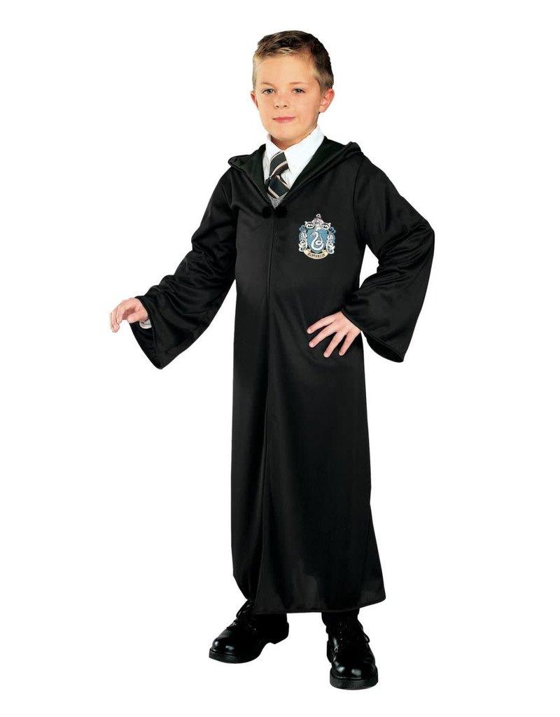 Black Horror Hooded Robe Costume Children Boys Girls  Red Vampires S M L XL