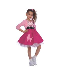 Rubies Costumes Kids 50's Girl Costume