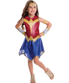 Rubies Costumes Girl's Wonder Woman Costume
