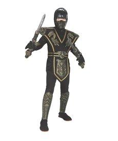 Rubies Costumes Kids Gold Ninja Warrior Costume