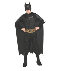 Rubies Costumes Boy's Batman Costume (Dark Knight Trilogy)