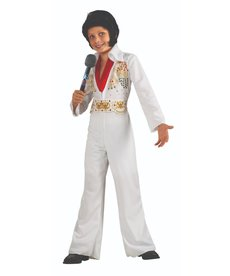 Rubies Costumes Kids Deluxe Elvis Eagle Jumpsuit Costume