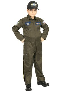 Rubies Costumes Kids Air Force Pilot Costume