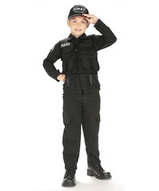 Rubies Costumes Kids S.W.A.T. Police Costume