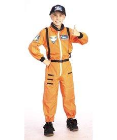 Rubies Costumes Kids Orange Astronaut Costume