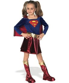 Rubies Costumes Girl's Deluxe Supergirl Costume