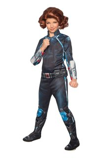 Rubies Costumes Girl's Deluxe Black Widow Costume (Avengers: Age of Ultron)
