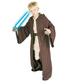 Rubies Costumes Kids Deluxe Hooded Jedi Robe