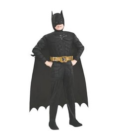 Rubies Costumes Boy's Deluxe Batman Costume (Dark Knight Trilogy)