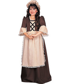 Rubies Costumes Kids Colonial Girl Costume