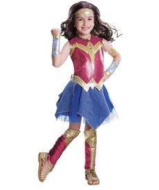 Rubies Costumes Girl's Deluxe Wonder Woman Costume