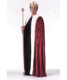 Rubies Costumes Unisex Velvet Burgundy King's Robe