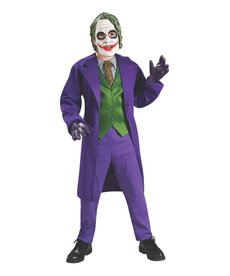 Rubies Costumes Boy's Deluxe The Joker Costume (Dark Knight Trilogy)