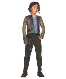 Rubies Costumes Kids Deluxe Jyn Erso Costume For Girls