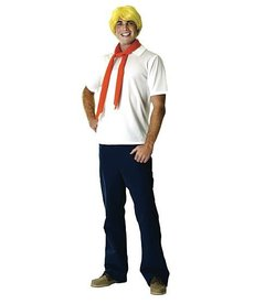 Rubies Costumes Men's Fred Jones Costume (Scooby Doo)