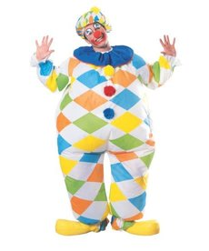 Rubies Costumes Adult Inflatable Clown Costume