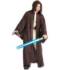 Rubies Costumes Adult Deluxe Jedi Robe Costume: Star Wars Saga