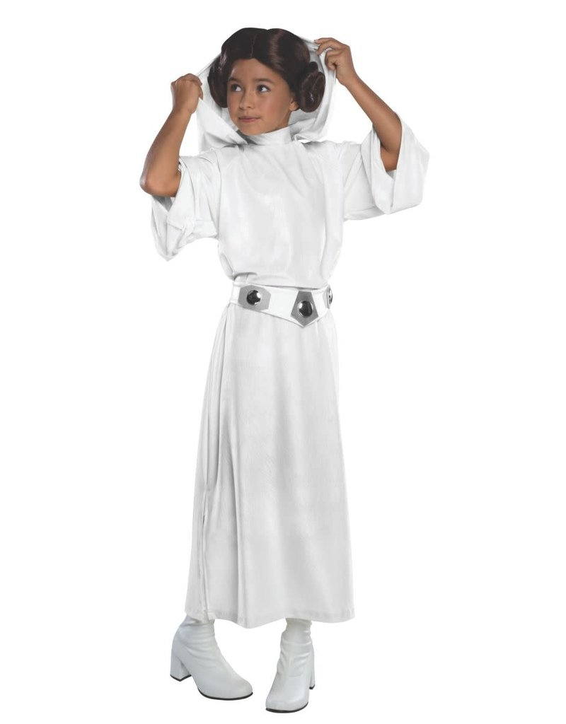 Rubies Costumes Kids Deluxe Princess Leia Hooded Costume For Girls