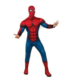 Rubies Costumes Men's Deluxe Spider-Man Red/Blue Suit Costume